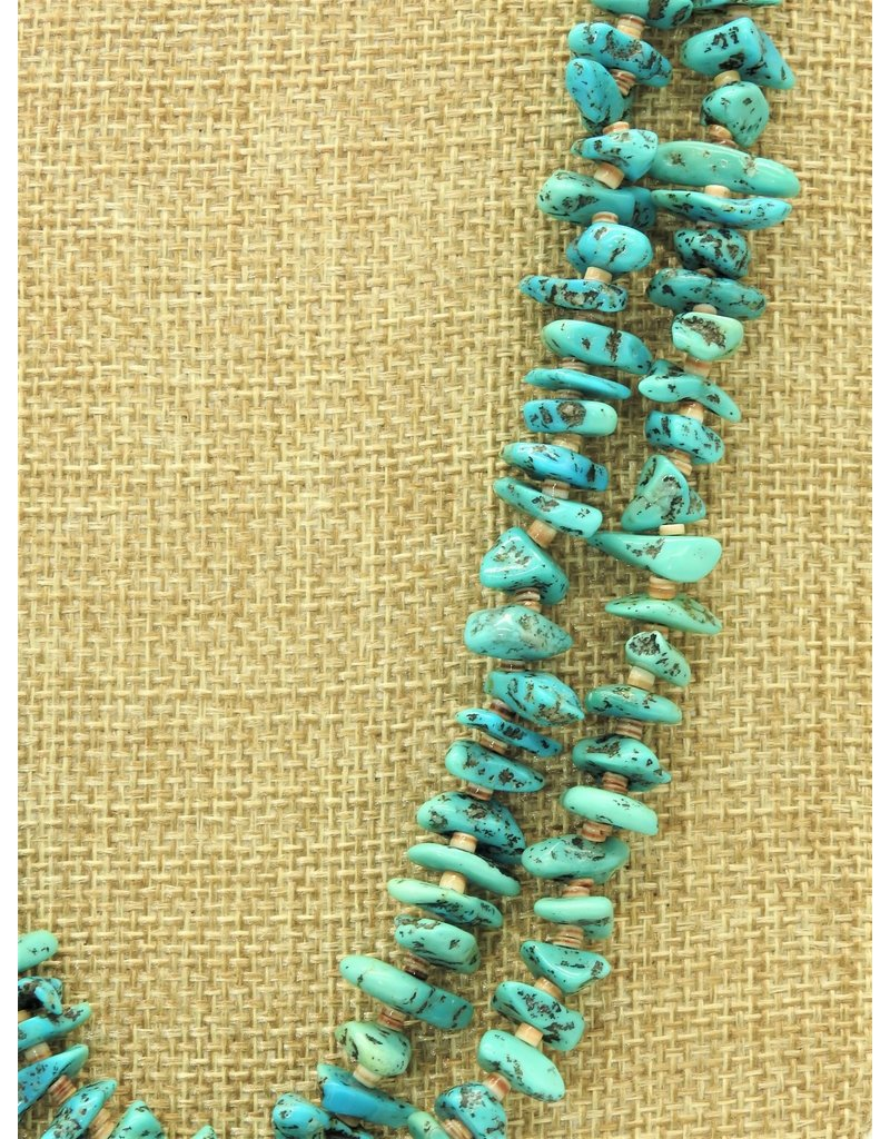 Karina 2 Strand Natural Kingman Turquoise