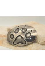 Karina Sterling Silver Bear Paw Buckle
