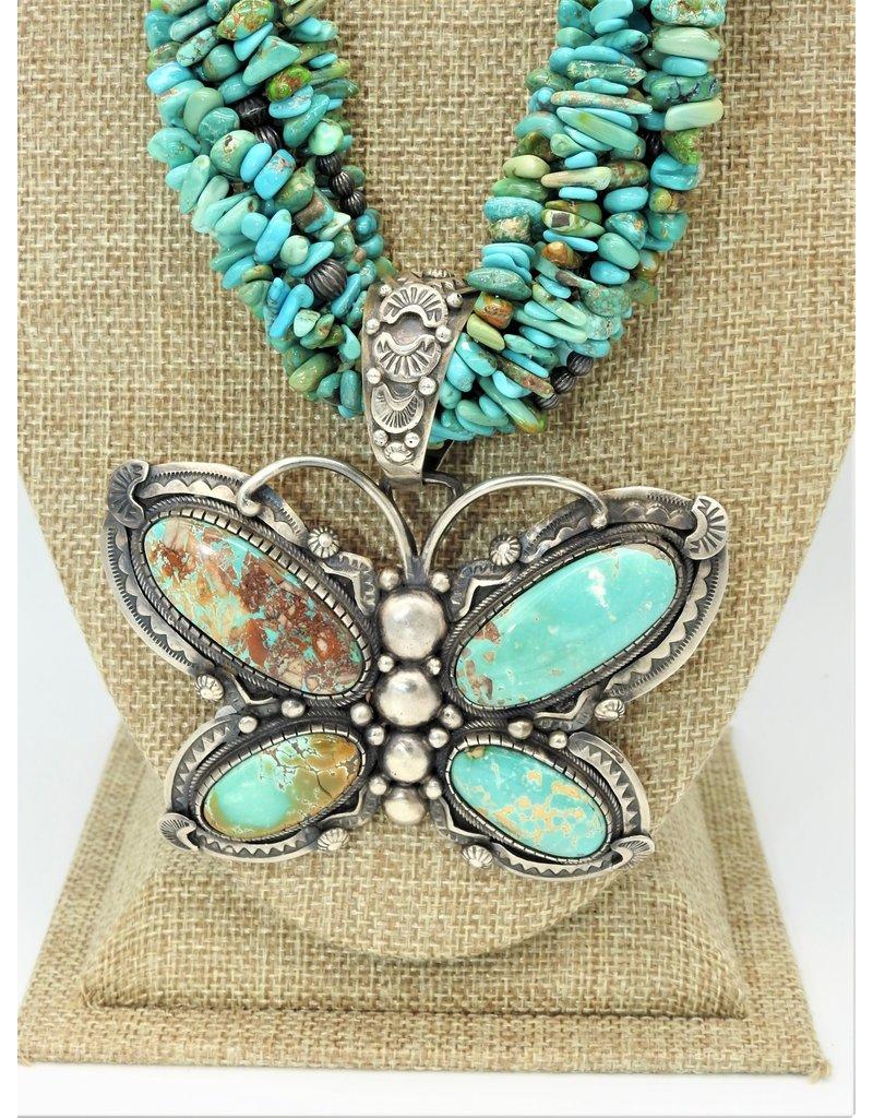 Karina KG-P4C Lg.Turq. Darren Livingston Butterfly Pdnt.