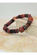 Gildas Gewels GG-1287C Orange Bead, Dia. Bracelet