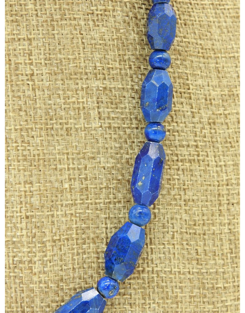 Pam Springall PS-N127C Lapis Faceted Beads
