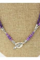 Pam Springall 3-Strand Sugilite Necklace