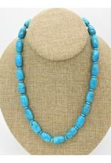 Pam Springall PS-N177 Nakozari Turqquoise Barrel & Rondells