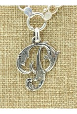"Mariano Draghi MD-C SS Initial P Lg Pendant (1 3/4"")"