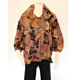 Kiyo Floral Bubble Jacket