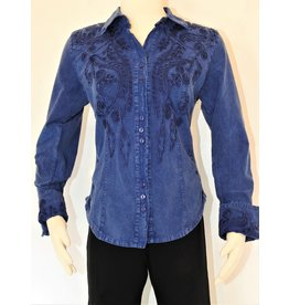 Peruvian Perfection Cotton Embroidered Chief L/S Shirt