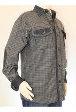 Alan Michael USA Corp Mens Wool Plaid Unisex Coat