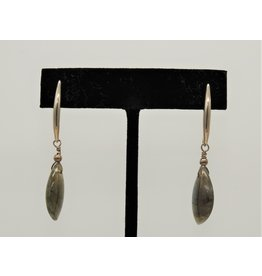 Paula Sass-Donnelly PSD-E17C Labradorite, SS Earrings