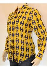 Dan Roma Classical 100% Linen, Ltd.Ed Chain Link Yellow L