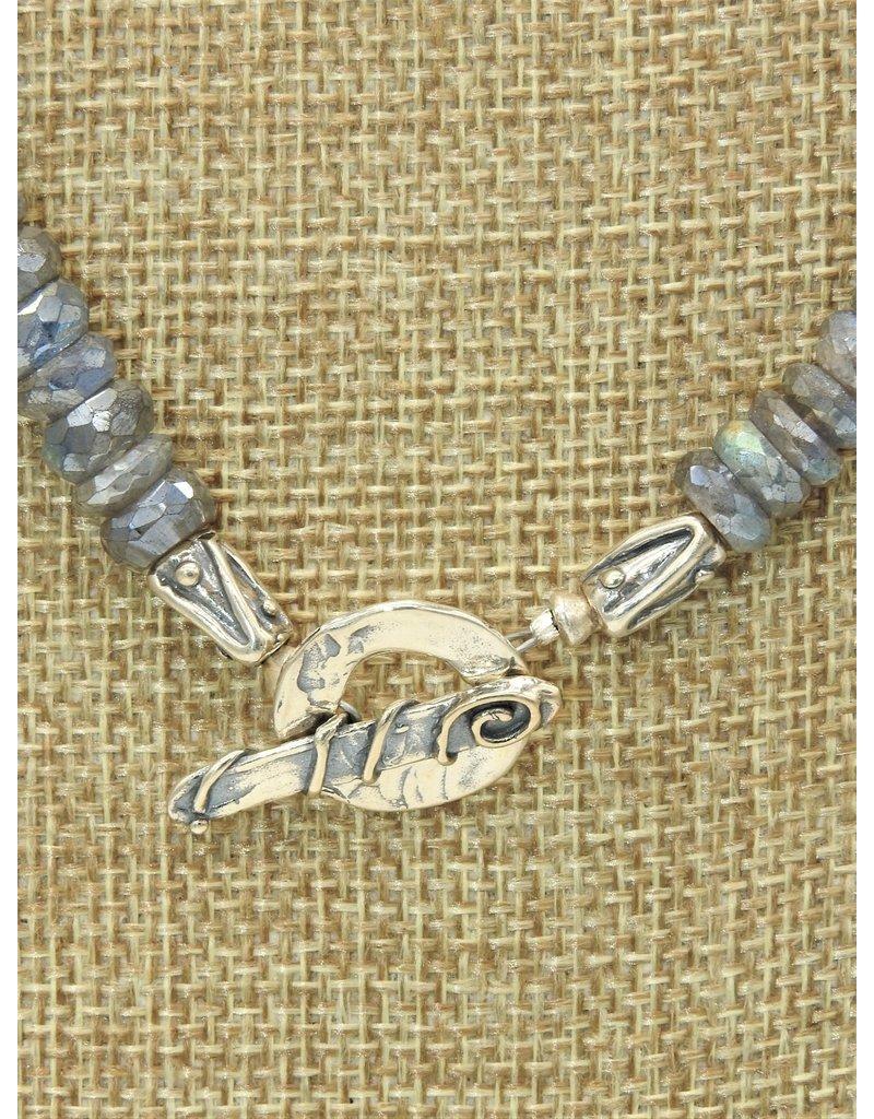 "Pam Springall PS-N184C ""Mystic"" Labradorite Necklace"