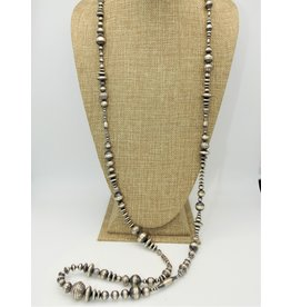 """SW Native American SW-N 48"""" Multi Size Navajo Pearls Necklace"""