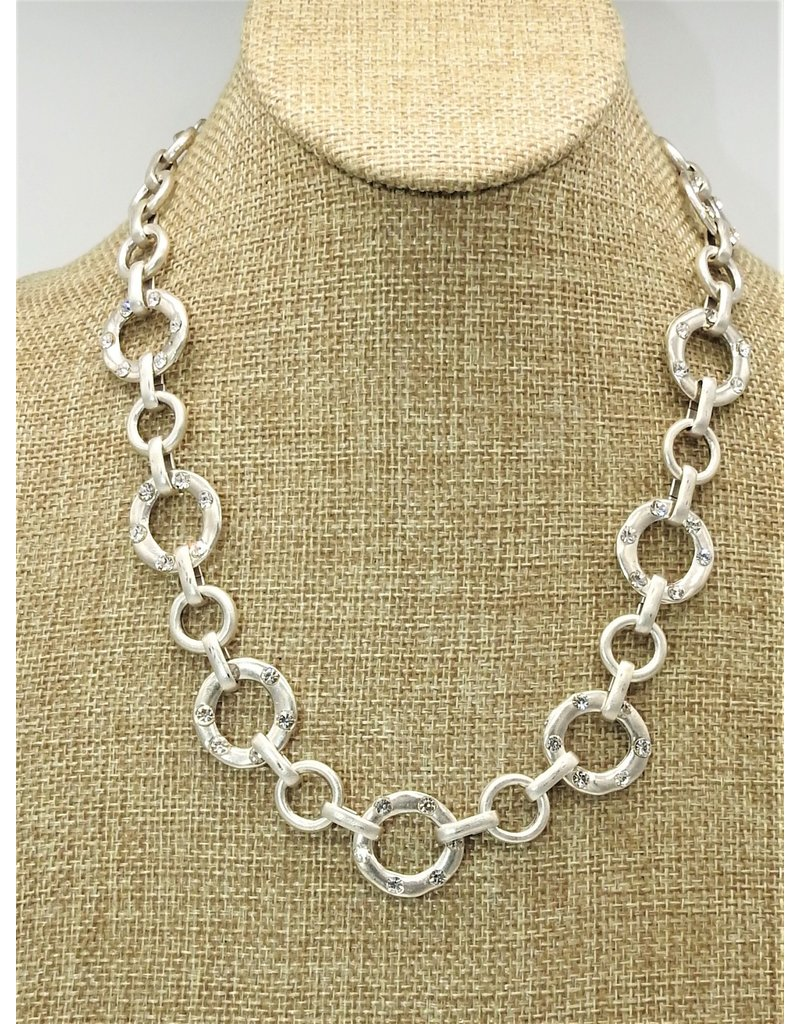 Pewter Couture NN3153 Pewter Necklace