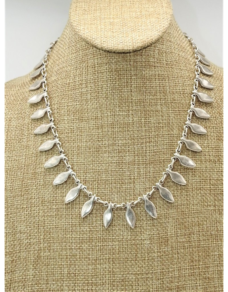 Pewter Couture NN3033 Pewter Necklace