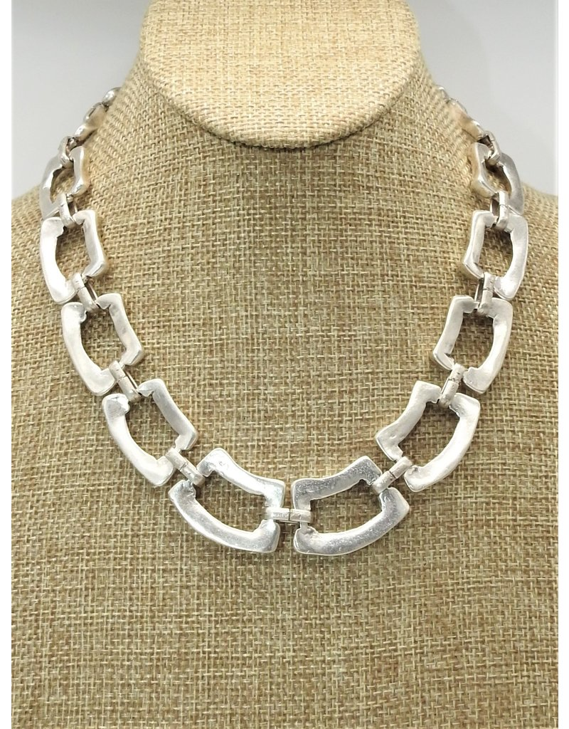 Pewter Couture NN3110 Pewter Necklace