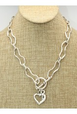 Pewter Couture NN3042 Pewter Necklace