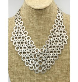 Pewter Couture 1562 Pewter Necklace