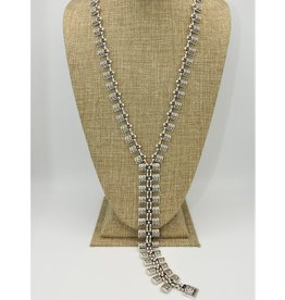 Pewter Couture 1748 Pewter Necklace