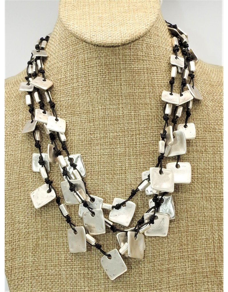 Pewter Couture SLVR1033 Pewter Necklace