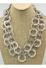 Pewter Couture 1557 Pewter Necklace