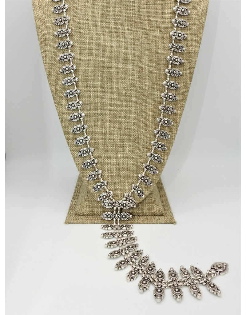 Pewter Couture 1750 Pewter Necklace