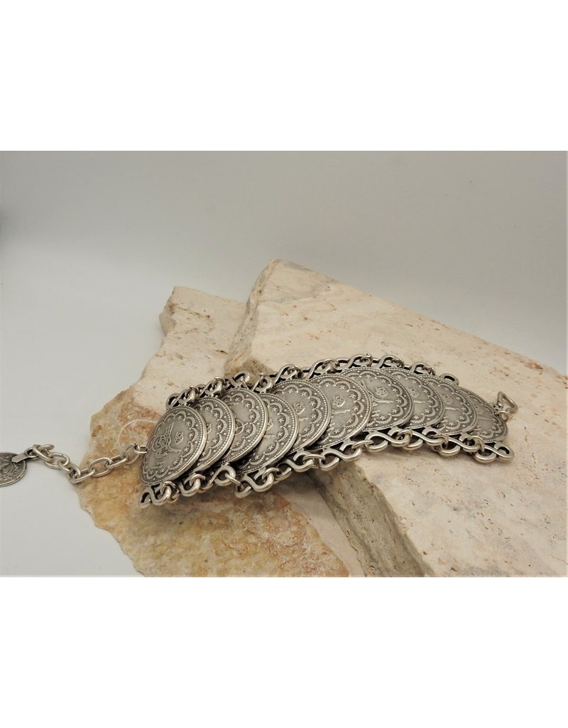 Pewter Couture 2684 Pewter Bracelet