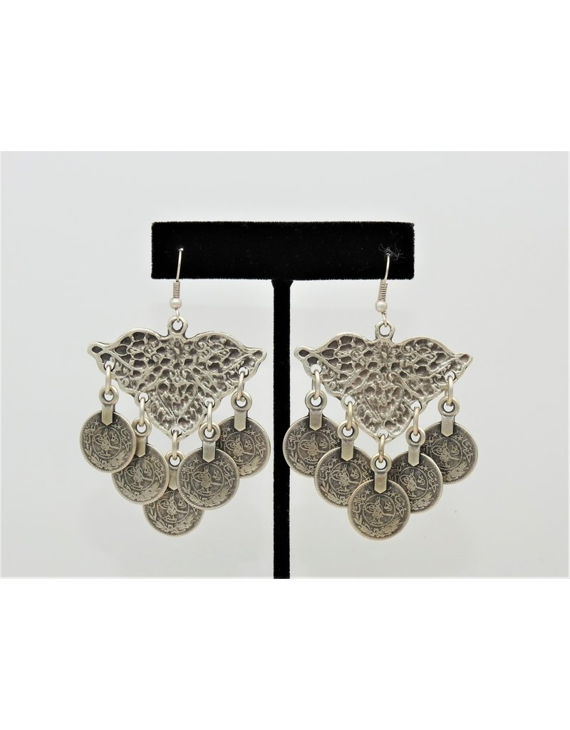 Pewter Couture 5004 Pewter Earrings