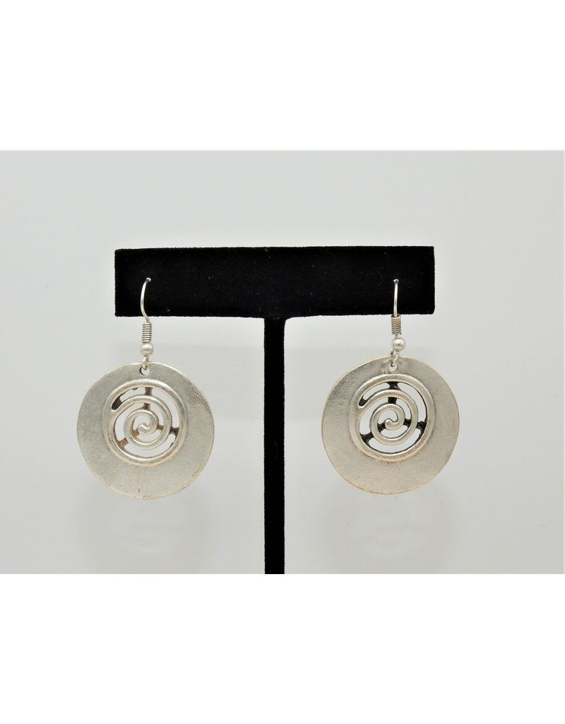 Pewter Couture 4526 Pewter Earrings