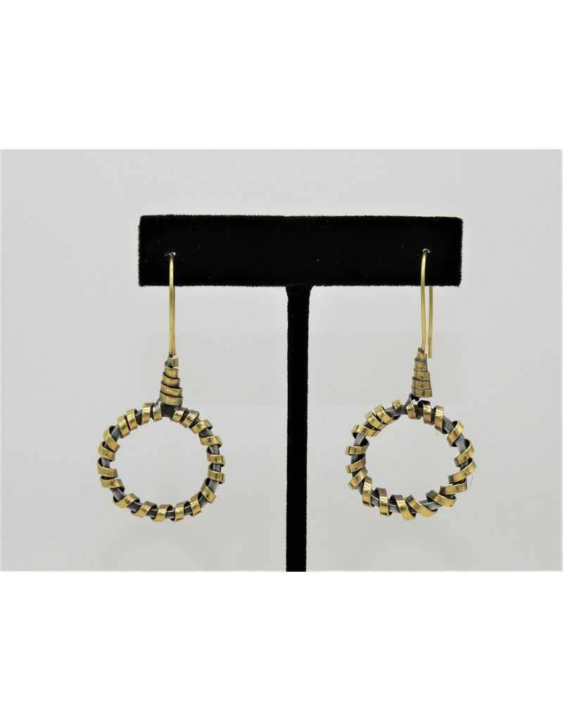 Pewter Couture Bronze Earrings