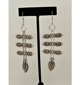Pewter Couture KU79 Pewter Earrings