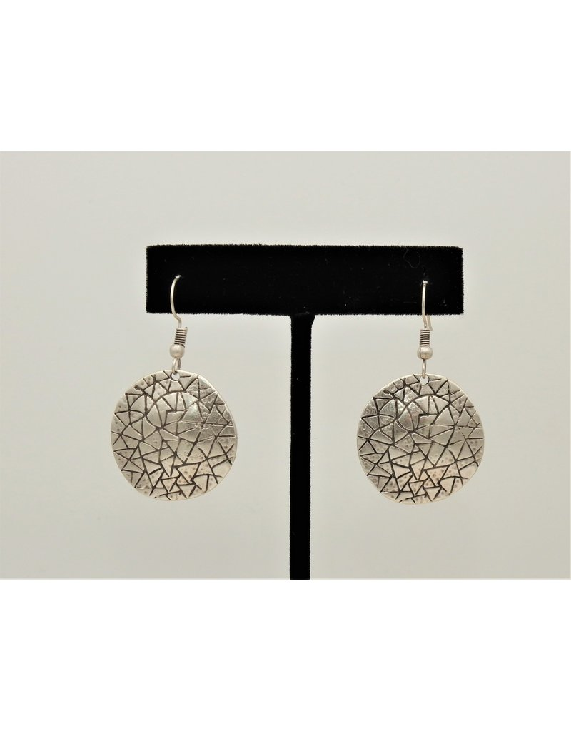 Pewter Couture NE1045 Pewter Earrings