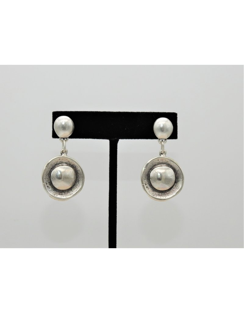Pewter Couture NE1287 Pewter Earrings