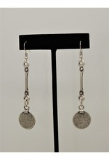 Pewter Couture NE1172 Pewter Earrings