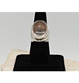 Shreve Saville SRS-R63C SS, Rutilated Quartz Ring size 8
