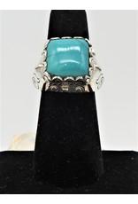 Shreve Saville SRS-R53C Green Turquoise Ring size 7