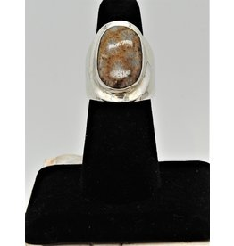 Shreve Saville SRS-R43C Agatized Coral Ring size 6.5