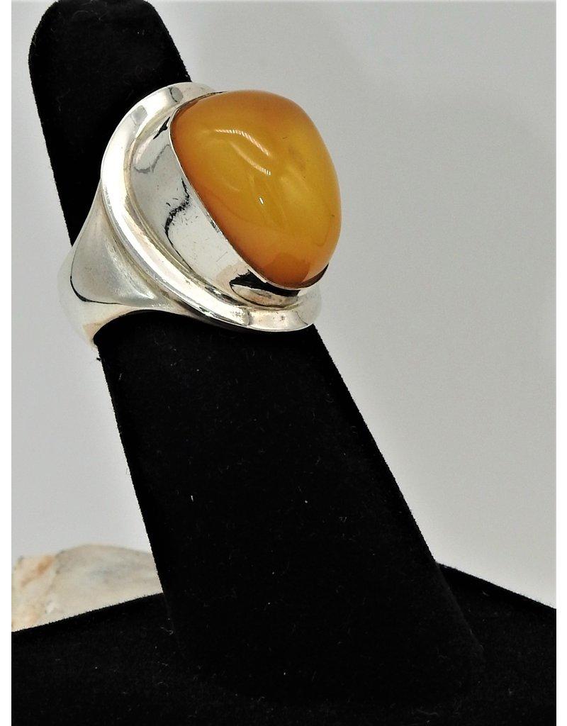 Shreve Saville SRS-R47C Ntrl. Baltic Amber Ring size 6