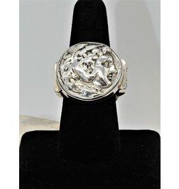 Shreve Saville SRS-R25C Sterling Alexander the Great Ring size 8.5