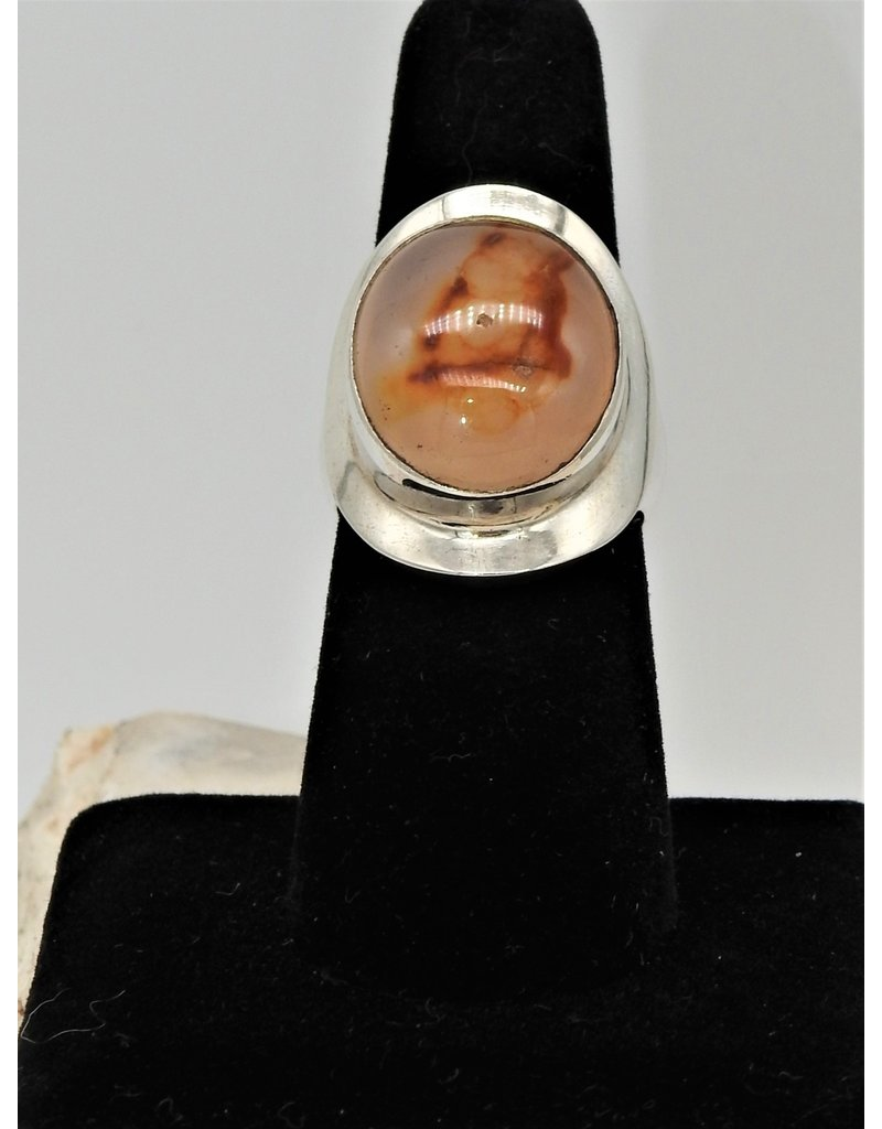 "Shreve Saville SRS-R15C ""Magic"" Agate Ring size 8"