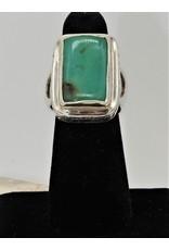 Shreve Saville SRS-R18C Deep Grn. Austrn. Chrysoprase Ring size 6