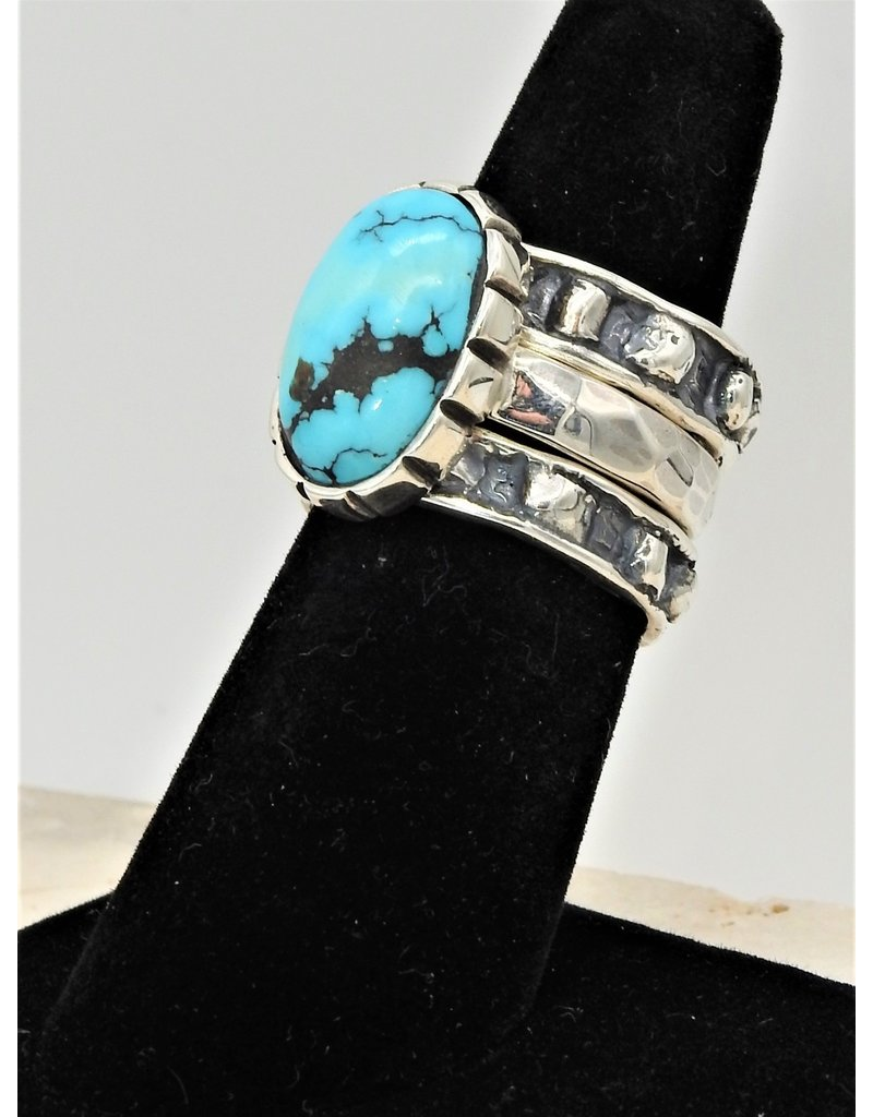Shreve Saville Blue Moon Turq. Stacker 7