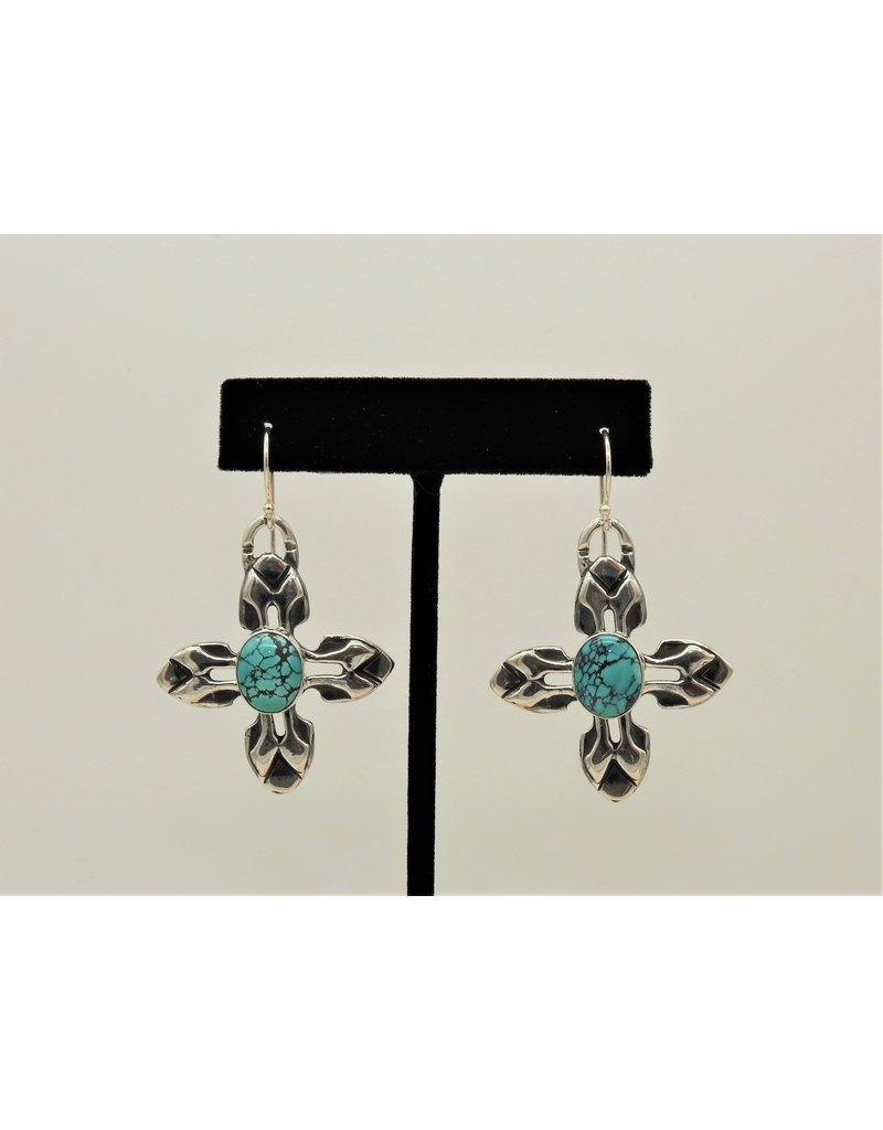 Pam Springall SRS10 w/Turquoise Earrings