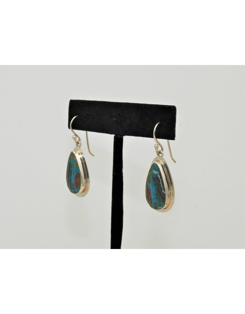 Pam Springall PS-E251C Peruvian Opal On Wire Earrings