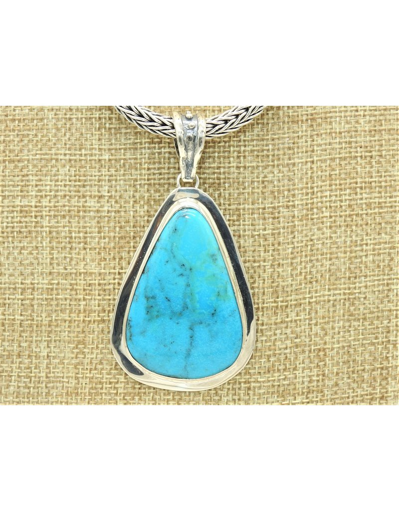 Pam Springall SS/Nakozari Turquoise Pendant