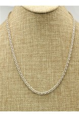 "Mariano Draghi MD 20"" Sterling Spike Chain"