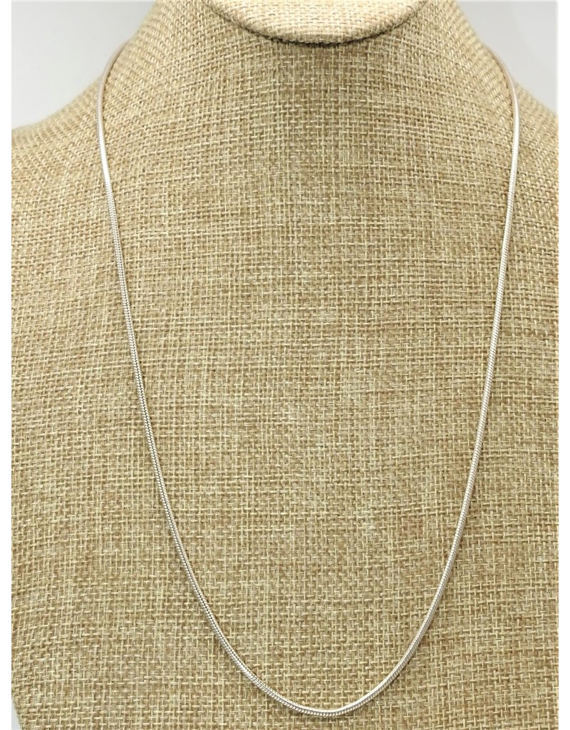 "Mariano Draghi MD- 23.5"" Thin Cord Chain"