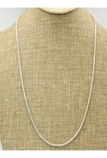 """Mariano Draghi MD-C 24"""" Sterling Cord Chain (small gauge)"""