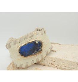 A. Tsagas KG-B15 A.Tsagas Leather w/Lapis Cuff