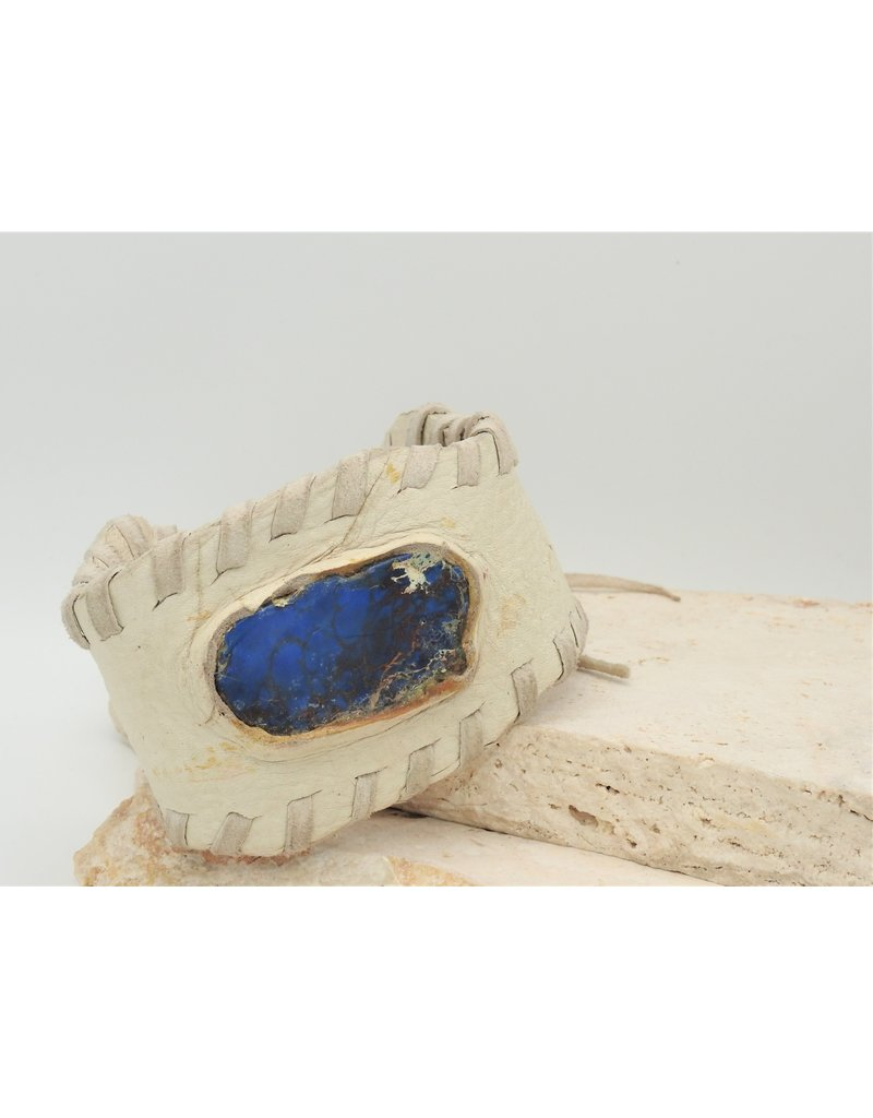 A. Tsagas A.Tsagas Leather w/Lapis Cuff