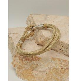 Mariano Draghi Horse Lthr Bracelet--C