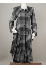 Bodil Cotton Plaid Coat/Duster by Bodil